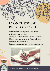 CARTEL I CONCURSO RELATOS CORTOS